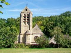 Eglise - Français:   Église Notre-Dame-de-l\'Assomption, rue Nationale / rue de l\'Église; façade sud, vue depuis la rue Amédée-de-Caix-de-Saint-Aymour.