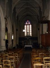 Eglise - Français:   Nef de l\'église Notre-Dame-de-l\'Assomption de Vauréal