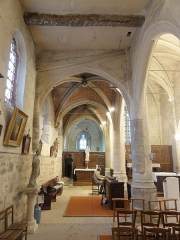 Eglise - Français:   Intérieur de l\'église de l\'Assomption de Notre-Dame - voir titre.