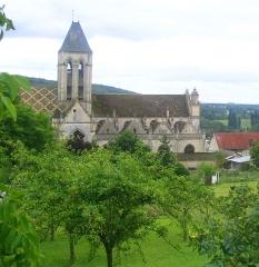 Eglise Notre-Dame -  Eglise de Vetheuil, Val d'Oise, France