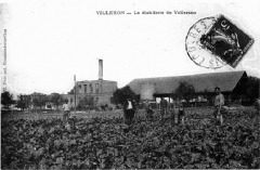 Domaine de la grange cistercienne de Vollerand - English: Sugar beet alcohol Distillery, Barn of Vaulerent, Villeron, former Seine-et-Oise, now in Val-d'Oise, France.