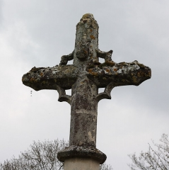 Croix de cimetière - Deutsch: Friedhofskreuz in Wy-dit-Joli-Village