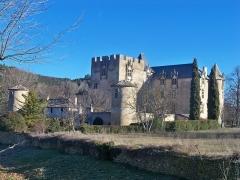 Château - English: Castle of Allemagne en Provence, Alpes de Haute Provence, France