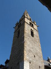 Tour de l'horloge dite Tour Cardinalis -  Barcelonnette, département des Alpes-de-Haute-Provence, France