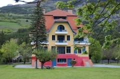 Villa Bleue - Deutsch: Villa Bleue in Barcelonnette