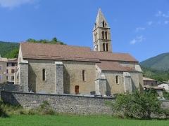 Eglise - Français:   L\'église de Bayons dans les Alpes de Haute-Provence (04) - France