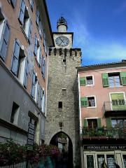 Tour de l'Horloge -  Alpes Haute-Provence Castellane Beffroi