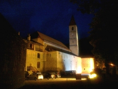 Eglise paroissiale Saint-Martin -  Alpes Haute Provence Colmars Porte France Eglise