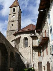 Eglise paroissiale Saint-Martin - Français:   Colmars - Eglise Saint-Martin - Clocher