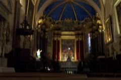 Ancienne cathédrale Notre-Dame de l'Assomption, actuellement église paroissiale -  La nef de l'église