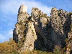 Fortifications et citadelle -  Burg in Entrevaux / Frankreich