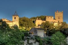 Château d'Esparron - Deutsch: Église et Château d'Esparron-de-Verdon