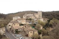 Château d'Esparron -  Vue générale du village médiéval