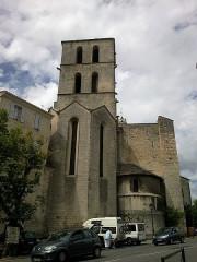 Eglise Notre-Dame-du-Bourguet -  Alpes-Haute-Provence Forcalquier Eglise Notre-Dame Chevet