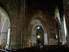 Eglise Notre-Dame-du-Bourguet -  Alpes-Haute-Provence Forcalquier Eglise Notre-Dame Nef