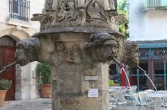 Fontaine Saint-Michel - Français:   Fontaine Saint-Michel de Forcalquier.