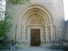 Prieuré -  Alpes De Haute-Provence Ganagobie Abbaye Eglise 13072013