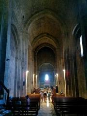 Prieuré -  Alpes De Haute-Provence Ganagobie Abbaye Eglise Nef 13072013