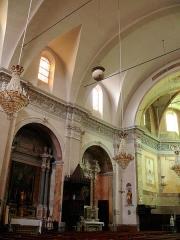 Eglise Saint-Nicolas-de-Myre - Français:   Jausiers - Église St Nicolas-de-Myre - Chapelles latérales