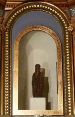 Eglise Notre-Dame-de-Romigier - Deutsch: Schwarze Madonna N.D. de Romigier in der Kirche Notre-Dame-de Romigier in Manosque (Provence-Alpes-Côte d'Azur)