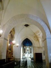 Eglise Notre-Dame-de-Romigier -  Manosque Eglise Notre-Dame-De-Romigier Bas Cote Gauche 12072015
