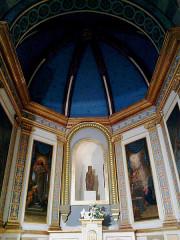 Eglise Notre-Dame-de-Romigier -  Manosque Eglise Notre-Dame-De-Romigier Bas Cote Gauche Chapelle Vierge Noire