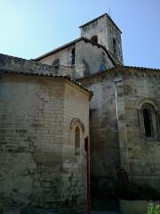 Eglise Notre-Dame-de-Romigier -  Manosque Eglise Notre-Dame-De-Romigier Chevet