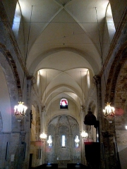 Eglise Notre-Dame-de-Romigier - Français:   Manosque Eglise Notre-Dame-De-Romigier Nef