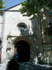 Eglise Notre-Dame-de-Romigier -  Manosque Eglise Notre-Dame-De-Romigier Porche