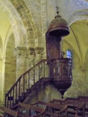 Eglise Notre-Dame-de-Romigier - Français:   chair de l\'église Notre Dame de Romigier, Manosque, France