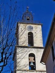 Eglise Saint-Sauveur - Français:   clocher de l\'église Saint Sauveur de Manosque (04), France