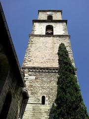 Eglise Saint-Sauveur -  Manosque Eglise Saint-Sauveur Clocher