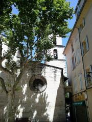 Eglise Saint-Sauveur - Français:   Manosque Eglise Saint-Sauveur Clocher