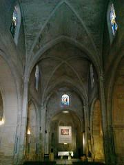 Eglise Saint-Sauveur -  Manosque Eglise Saint-Sauveur Nef