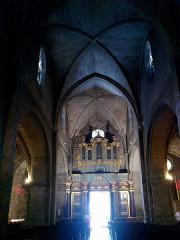Eglise Saint-Sauveur -  Manosque Eglise Saint-Sauveur Nef Orgues