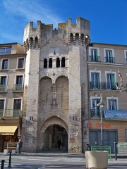 Porte de la Saunerie - English: Saunerie city gate in Manosque, France