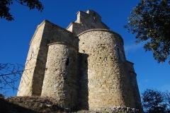 Chapelle Saint-Donat - Français:   France - Provence - Église Saint-Donat de Montfort