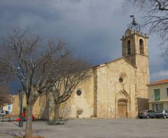 Eglise - Français:   temps couvert côté Nord