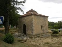 Baptistère dit le Panthéon (chapelle circulaire) -  Alpes-Haute-Provence Riez Baptistere Merovingien 12072014