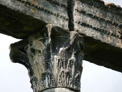 Quatre colonnes antiques surmontées d'un entablement -  Colonia Julia Augusta Apollinarium Reiorum