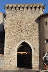 Portes (deux anciennes) : Porte d'Ayguières et Porte Saint-Sébastien - Français:   Porte Saint-Sébastien, Riez.