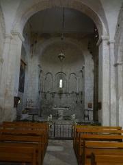 Eglise -  Église Saint-Martin de Saint-Martin-les-Eaux (Alpes-de-Haute-Provence), nef