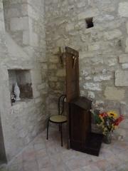 Eglise -  Église Saint-Martin de Saint-Martin-les-Eaux (Alpes-de-Haute-Provence), confessionnal