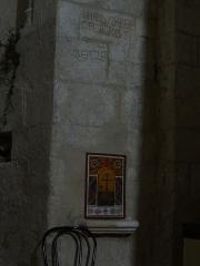 Eglise -  Église Saint-Martin de Saint-Martin-les-Eaux (Alpes-de-Haute-Provence), dédicace