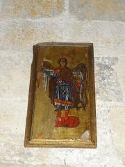 Chapelle avec son clocher -  Icône située dans le collatéral de la chapelle Saint-Michel (église haute).