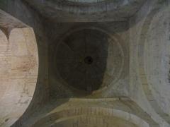 Chapelle avec son clocher -  Coupole de l'église Saint-Michel à Saint-Michel-de-l'Observatoire (04).