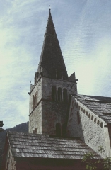 Eglise -  Alpes-De-Haute-Provence Saint-Paul-Sur-Ubaye Eglise