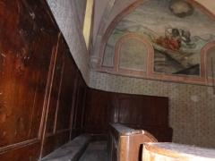 Eglise - Français:   Bancs du chapitre
