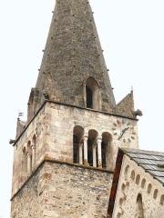 Eglise - Français:   Saint-Paul-sur-Ubaye - Eglise Saint-Pierre-et-Saint-Paul - Haut du clocher