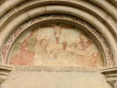 Eglise - Français:   Saint-Paul-sur-Ubaye - Eglise Saint-Pierre-et-Saint-Paul - Tympan du portail occidental